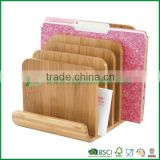 great full bamboo paper file folder document holder