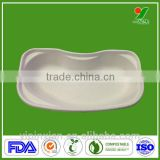 Dongguan manufacturer disposable hospital nursing recycle medical pulp kidney dish tray