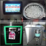 Date syrup & paste standing bag with cap doypack film filling and capping machine