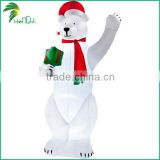 Giant Amazing Design Lovely Outdoor Decorate Inflatable Christmas Polar Bear