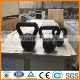 Black painted kettlebell, Gray/Black Harmmerton Kettlebell