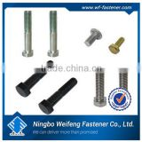 China high quality anchor standard size bolt and nut manufacturer&supplier&exporter split set rock bolts