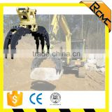 hydraulic mechanical excavator rotating grapple for grabbing waste metals                                                                         Quality Choice