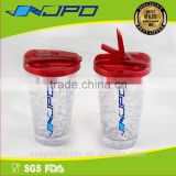 Double Wall 400ml Wholesale Ice Sippy Cups