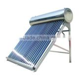 Stainless steel non pressure solar water heater, solar geysers, solar hot water heating system