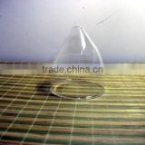 China manufacturer lamp replacement parts high borosilicate crystal glass chandelier parts