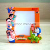 Guangzhou factory provide Exquisite design ecological soft pvc photo frames for home decor