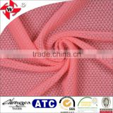 Chuangwei Textile soft and breathable mesh design 96/4 nylon spandex swimwear lining fabric
