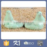 home decor sea lion shaped porcelain animal figurines