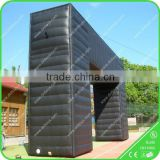 Arch type outdoor large inflatable entrance arch for sport or event