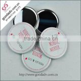 Customized cosmetic tool decorative princess hand mirror