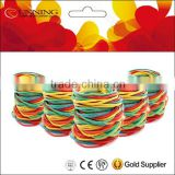 fashion colorful Rainbow rubber bands