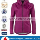 2016 Wholesale Waterproof Breathable Rain Jacket Brand Name Hoodies Jackets