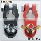 Pair Car Auto Lead Battery Terminals Postive Negative Clamps 12V