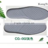 High quality comfortable latex insole / latex and cork insole