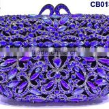 CB0132-10 royal blue Party purse handbags fashion design evening clutch purse handbags wholesale clutch