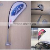 Cheap!Hot Sale Popular High Quality Advertising Promotional Use Teardrop Mini Car Flag Banner