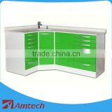 Hot sale modern AM-15 dental cabinet many drawers clinic hospital use laboratory furniture