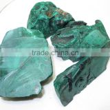 Natural Malachite Rough Gemstone Also Called Kidney Stone