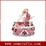 Resin Elegant ballerina Trinket Jewelry Box