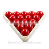 Modern stylish ABS snooker ball triangle/ Factory promotion