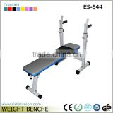 ES-544 High quality oem deqing fold up adjustable body lifting training weight exercise bench