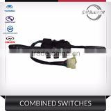 original quality bus double lever combination switch King Long Yutong HIGER Golden Dragon aftermarket parts
