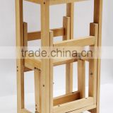 Wood Step Ladder Stool, Portable Folding Step Stool, Baby Step Stool