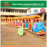 China electric train of kidde rides amusement track train rides used carnival rides for sale