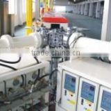 flocking rubber strip extrusion microwave curing machine / solid rubber strip extrusion production line