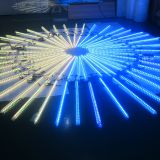 DMX 3d meteor snowfall LED tube Light