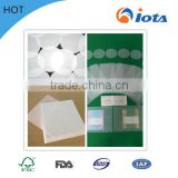 white/ Blue Food grade low weight glassine release paper 2014