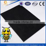 Yellow and black color plastic comb foundation with heat resisting