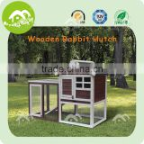 fir wood easy assembled eco friendly outdoor rabbit hutch,wholesale pet accessories from china