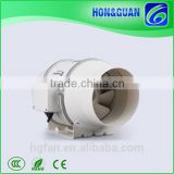 2017 new manufacturing 1inch round exhaust duct fan with external rotor motor (EC Motor supportable)