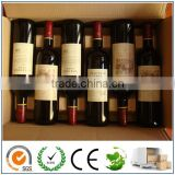 INquiry about ECO Molded Pulp Wine Pack/Wine Tray/Wine Shipper/6 Bottle Wine Packaging