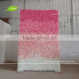 GNW FLW161116-001 Artificial Flower Wall Rose Hydrangea Flower Backdrop For Wedding Stage