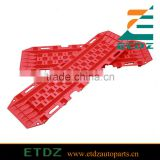 2 pairs Recovery Sand Track Snow Mud Recovery Red Car Vehicles Sand Ladder