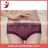 Ladies nylon sheer lace sexy underwear, fashion sexy ladies transparent panties