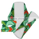 Ladies comfort OEM Sanitary Napkin washable Bamboo modern cloth menstrual pad