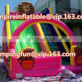 OEM design medium sized inflatable cartoon slide for children ID-SLM089