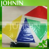 Factory Supply 20*30cm Custom Decoration Hanging String Triangle PE Bunting Flag