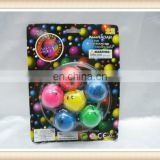 6pcs smile bounce ball toy, rubber bouncing ball toy