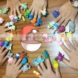 new design 20 pcs pokemon finger toys action figure