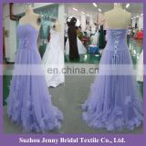 SPC054-1 2015 fancy Lavender off-shoulder sexu back open evening dress