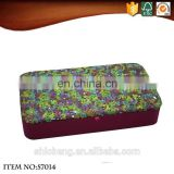 Top quality colorful sequin mirrored trendy cardboard jewelry box