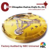 Wholesale soft enamel custom art collectible gold silver 3d medal