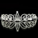 Crystal rhinestone wedding tiara bridal crown headband pience TR241