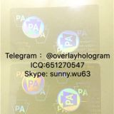 New Pennsyivania ID state hologram overlay PA ID sticker