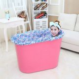Bath Tube In Plastic PP5 REACH Test Passed Portable Freestanding Bathtub for Adults Indoor Spa Buthtub